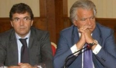 Nicola Cosentino e Denis Verdini