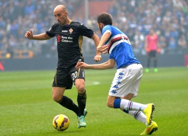 Borja Valero già impressionato da Mario Suarez