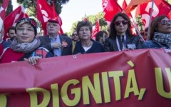 Pensioni: Camusso annuncia manifestazioni di protesta il 2 aprile. Per il mancato incontro col Governo