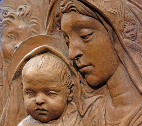 Madonna di Santa Trinita, opera in terracotta attribuita a Donatello
