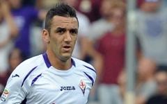 Gonzalo Rodriguez, autore del  gol della Fiorentina  a Stamford Bridge