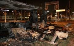 Firenze, brucia una baracca vicino al cantiere della Tav