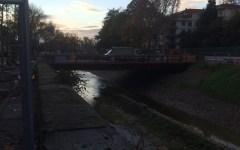 Firenze, tramvia: il ponte sul Mugnone. I lavori procedono, ma il rischio resta