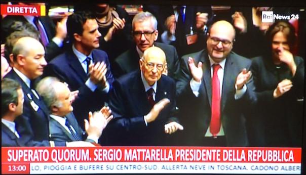 Elezioni Mattarella
