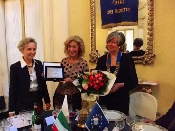 da sinistra Paola Tricca, Antonietta Fiorillo e Elisabeth Bucher Paoletti