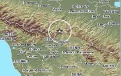 Terremoto, Vernio: nuovo sciame sismico con 15 scosse in nottata