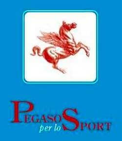 Il simbolo del Pegaso per lo Sport