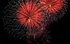 A Forte dei Marmi la prima sfida mondiale di fuochi d'artificio