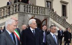 Mattarella a Firenze il 18 novembre 2015: per i 150 anni della Camera dei Deputati a Palazzo Vecchio