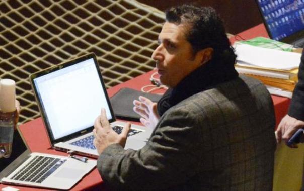 Naufragio della Concordia, l'imputato Francesco Schettino in aula al processo di Grosseto