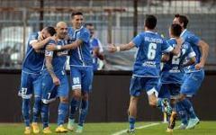 Empoli di slancio sul Cesena: 2-0. Gol di Maccarone e Signorelli. Pagelle