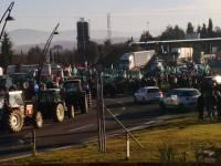 La manifestazione contro l'Imu agricola a Bettolle