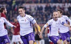 Europa League, grande Fiorentina: è nei quarti! Stroncata la Roma (0-3) all'Olimpico. Il sogno continua. Pagelle