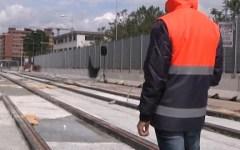 Firenze, tramvia: pronti i primi 200 metri di binari della linea 2 a Novoli