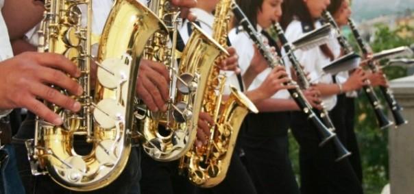 Bande musicali nelle piazze di Firenze per l'anteprima del Maggio