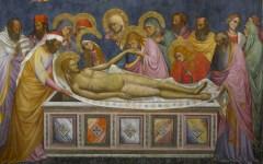 Firenze: tornata nella chiesa di San Carlo, in via Calzaioli,  la «Deposizione» di Pietro Gerini