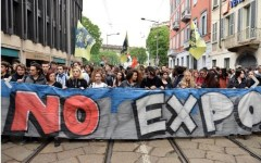Milano, Expo 2015: un migliaio di studenti in corteo per dire no a jobs act ed esposizione universale