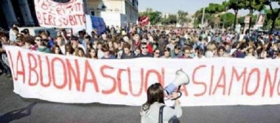 Manifestazione della scuola