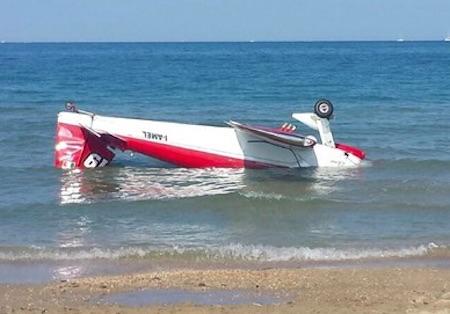 Il tragico incidente aereo di Alba Adriatica