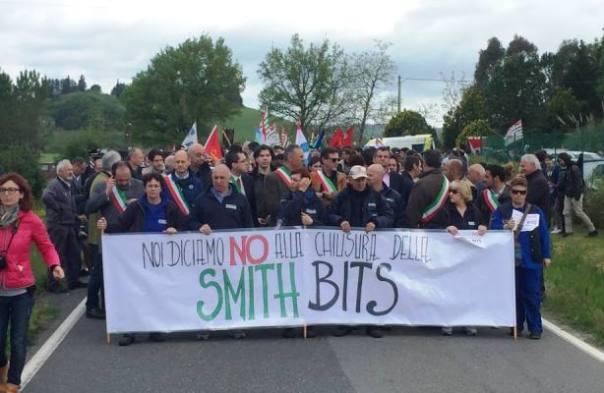 Saline di Volterra, chiude l'azienda Smith, 193 lavoratori in mobilità (foto Facebook Comune di Volterra)