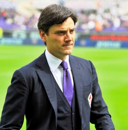 Fiorentina-Cesena, Vincenzo Montella (foto Giacomo Morini)