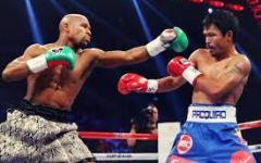 Boxe: Mayweather campione del mondo dei welter. Battuto Pacquiao nella stramilionaria notte di Las Vegas