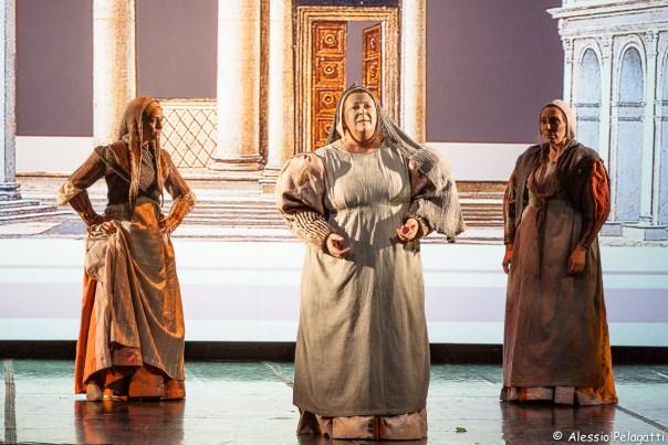 «La Mandragola» in scena al Bargello (foto Alessio Pelagatti)