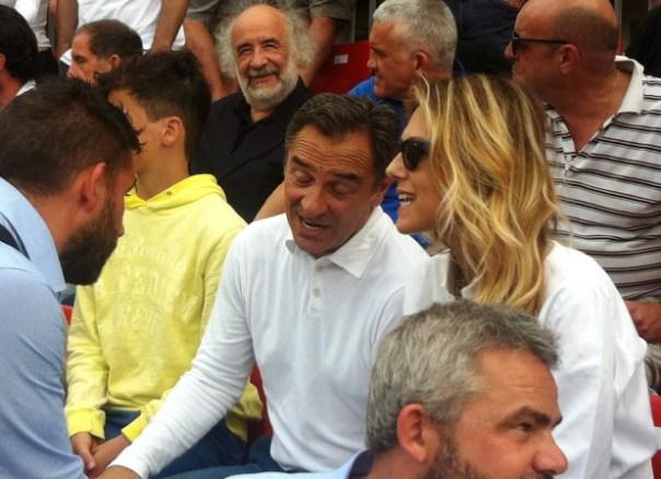 Calcio Storico 2015, Cesare Prandelli e Novella Benini