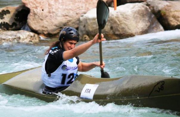 Canoa, Costanza Bonaccorsi è medaglia d'oro agli Europei di Banja Luka