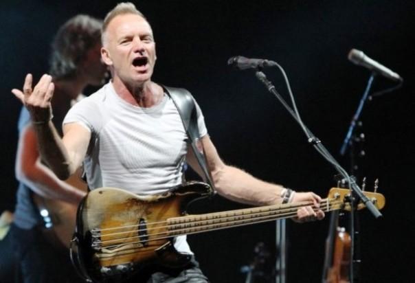 Sting, una delle star del Pistoia Blues 2015