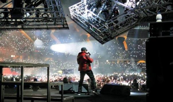 Vasco Rossi in concerto a Firenze il 12 e 13 giugno (foto dal suo profilo Facebook)