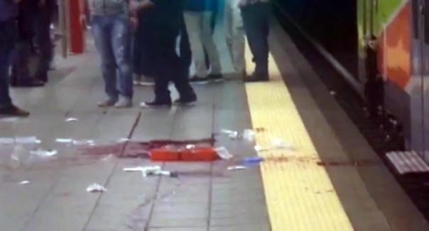 L'assalto con machete a Milano ai danni di un controllore