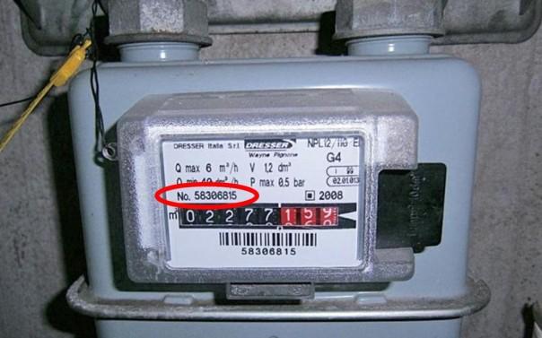 matricola-contatore-gas