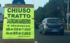 Autostrada A1 chiusa al traffico tra Barberino e Calenzano nella notte tra 11 e 12 luglio