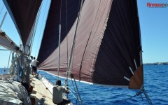 Diario di bordo dal «Capricia», la leggendaria barca a vela che l'avvocato Agnelli donò alla Marina Militare (VIDEO-FOTO)