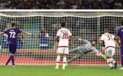 Fiorentina, avvio di campionato da applausi. Strapazzato il Milan: 2-0. Gol di Alonso (punizione) e Ilicic (rigore). Pagelle