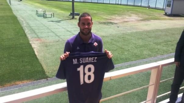 Mario Suarez, domani sarà in campo contro il Milan