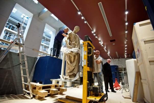 (3) Donatello, Abacuc,  allestimento del nuovo Museo dell'Opera Firenze