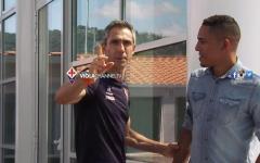 Fiorentina, ecco il brasiliano Gilberto: «Essere qui per me è già un sogno»