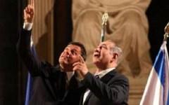 Firenze: Renzi-Netanyahu, vertice blindatissimo in Palazzo Vecchio. Impegno contro il nemico comune: il terrorismo