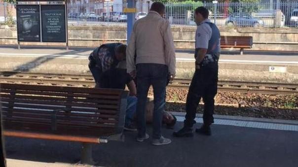 L'arresto dell'attentatore al treno Amsterdam Parigi