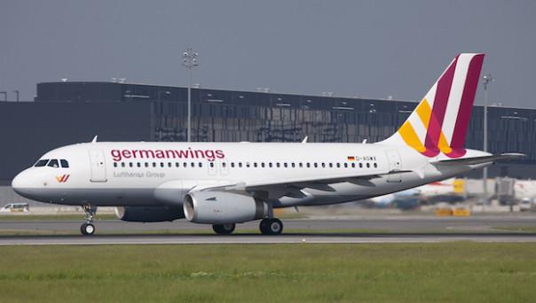Un Airbus 319 della Germanwings