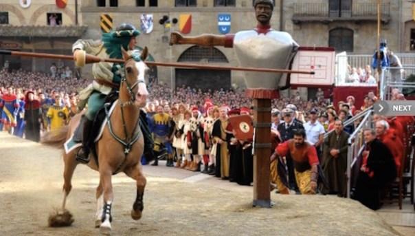 La Giostra del Saracino ad Arezzo