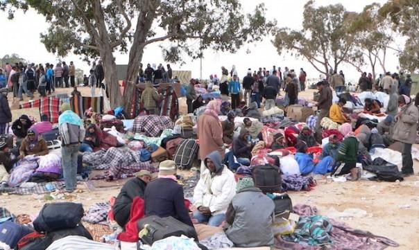 profughi fermi in Croazia