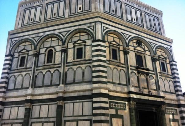 Firenze, 24 ottobre 2015, il Battistero di S. Giovanni ripulito e restaurato