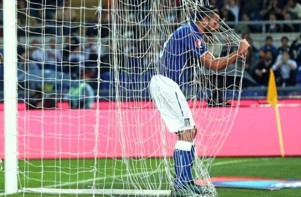 Italia-Norvegia, Graziano Pellè autore del gol della vittoria azzurra