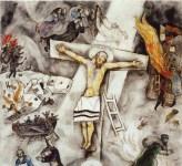 Crocifissione bianca, di Marc Chagall