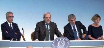 A Palazzo Chigi l'incontro della Conferenza Stato-Regioni