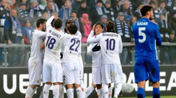Lech Poznan - Fiorentina: grande partita dei viola che esultano per il rilancio in Europa