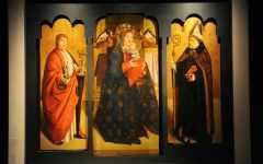 Firenze, Uffizi: presentato il trittico di Antonello da Messina. Vittorio Sgarbi: il direttore dev' essere italiano
